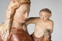 Thernberger Madonna, um 1320 (c) Dom Museum Wien, Leihgabe der Pfarre Thernberg, NÖ.  Foto: Deinhardstein, Rastl