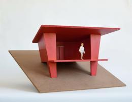 Thomas Schütte, ‹Hütte›, Modell, 2016