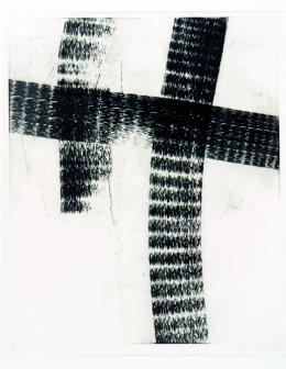 Thomas Meier-Castel, Ohne Titel, 2004, Kaltnadel, mpk, Graphische Sammlung, Foto mpk, © Ute Gortner