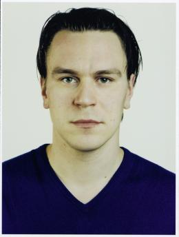 Thomas Ruff Porträt (A. Koschkarow), 1999 C-Print Albertina, Wien. Sammlung Essl © Thomas Ruff
