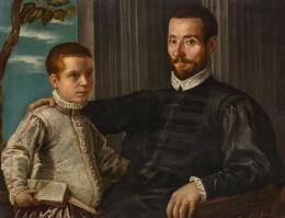 Domenico Robusti, gen. Tintoretto, Porträt eines Edelmannes mit seinem Sohn (c) Liechtenstein. The Princely Collections, Vaduz-Vienna