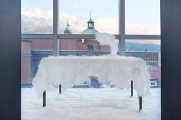 Martin Gostner (1957- ), Monument für Sonntag, 2008 Innsbruck, Tiroler Landesmuseum Ferdinandeum, Ältere Kunstgeschichtliche Sammlungen, Inv.Nr. Inst 8 (Leihgabe Land Tirol) Foto: Tiroler Landesmuseen