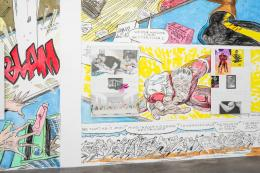 Marc Bauer, AAAARGH!!! Do you see my rage!...A Recollection of Desire and Annihilation, 2019, Detail, Courtesy the artist and Galerie Peter Kilchmann. Ausstellungsansicht Migros Museum für Gegenwartskunst, Foto: Lorenzo Pusterla Exhibition view Migros Museum für Gegenwartskunst, photo: Lorenzo Pusterla