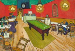 Vincent van Gogh, Le Café de nuit à Arles, 1888 © Hahnloser/Jaeggli Stiftung, Villa Flora, Winterthur Foto: Reto Pedrini, Zürich