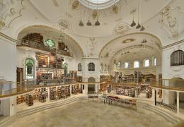 Kuppelsaal der Vorarlberger Landesbibliothek (Foto: Friedrich Böhringer/CCO)