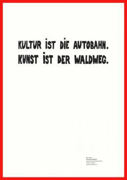 Werner Reiterer, Konzeptplakat 03