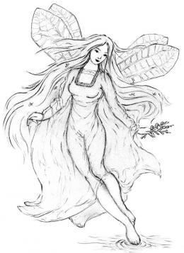 Die für mich schönste Illustration einer Wila , Quelle Wikipedia, Autor Agnieszka Kwiecien